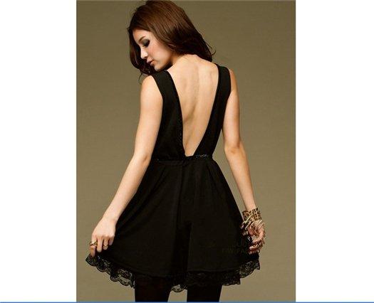 Вечернее платье с открытой спиной в зависимости от модели очень подходит к такому. платье с открытой спиной