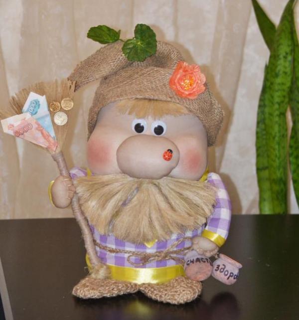 Куклы из колготок мастер класс для начинающих домовенок