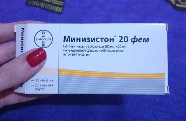 Противозачаточные Таблетки Минизистон Инструкция