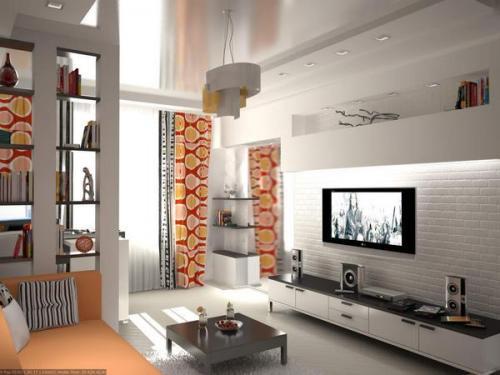 Гостиная 21 кв м дизайн фото