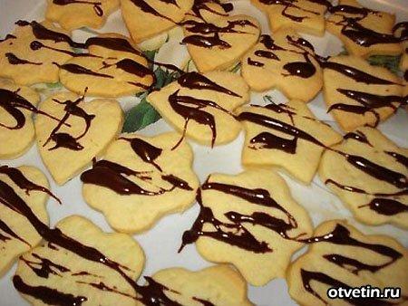 теста для выпечки орешков печенья