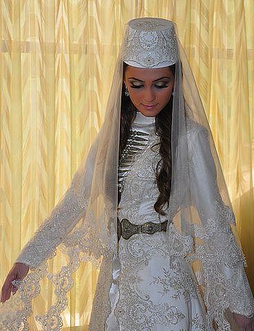Осетинские свадебные платья от