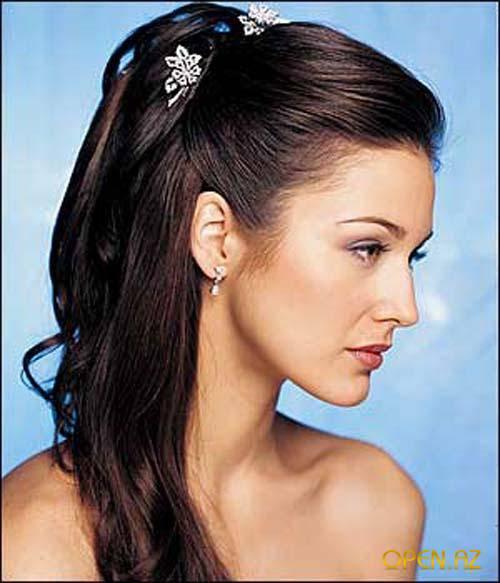 вечерние прически на прямые длинные волосы фото