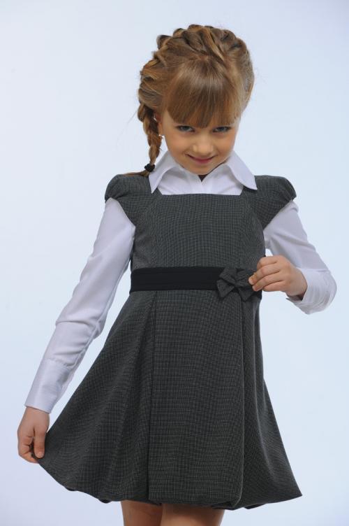 Как сшить юбку школьную на девочку 91