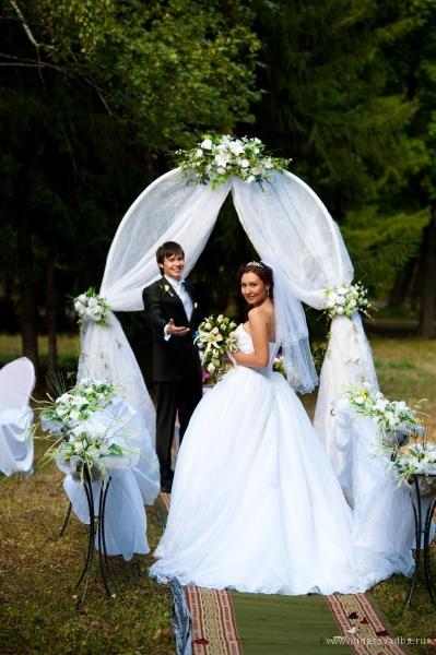 Украшения на свадьбу на природе своими руками