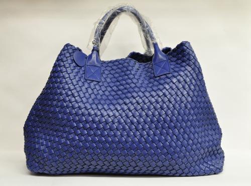 Копия сумка bottega veneta cabat blue sky