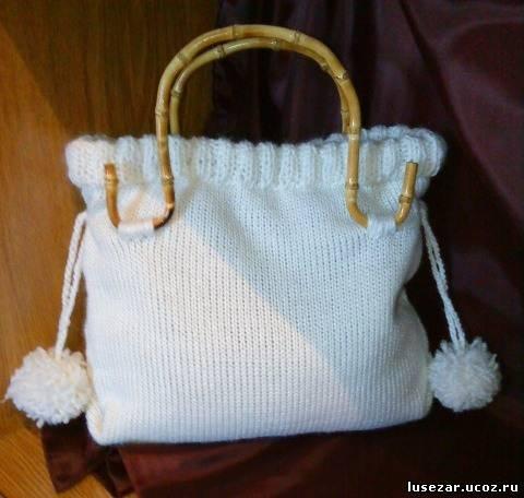 Вязаные сумки в квадратной форме.  Румки и сумочки Вязание крючком.