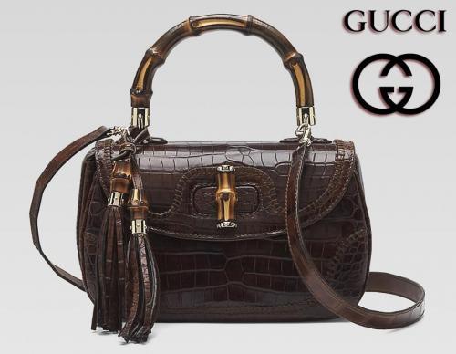 Модные женские сумки от Gucci.