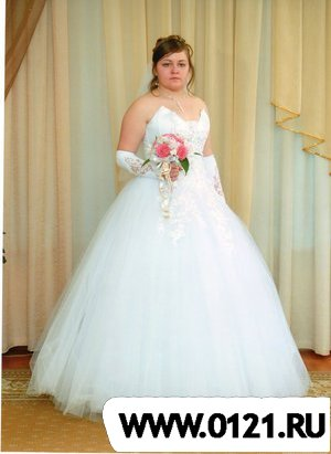 Красивое свадебное фото девушки