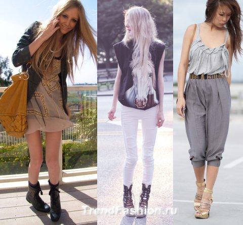 Комментарий: стиль, стили одежды, стили интерьера.