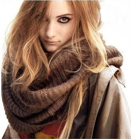 Если уж вязать палантин, шарф