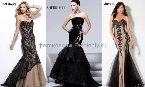 Пышные платья на выпускной 2012.