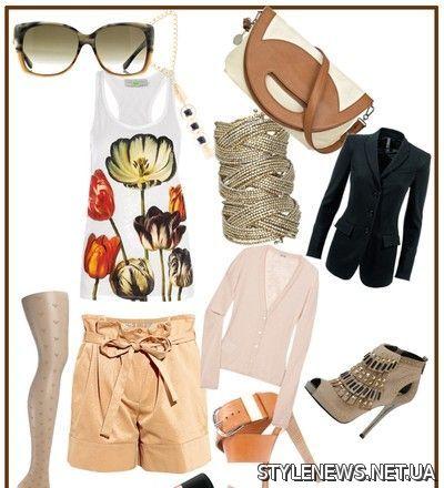 Мои весенние сеты: комбинация,одежда.