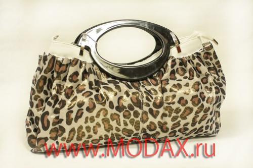 леопардовая сумка - Сумки.