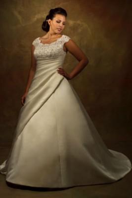 Фасоны платьев, разработанные для полных женщин, позволяют.