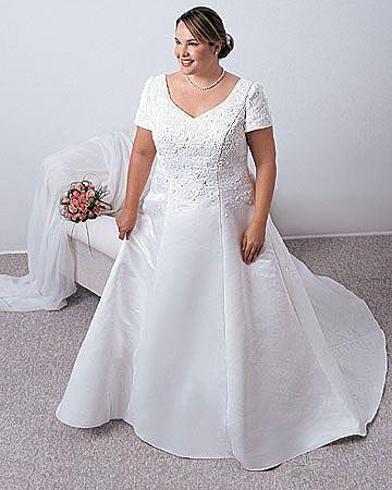 Свадебные платья для полных девушек (20 фото, Платья для полных девушек.