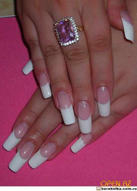 Гелевых ногтей наращивание ногтей