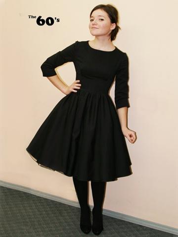 платья 60-х годов выкройки