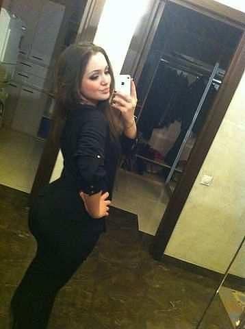 выставила свой зад фото