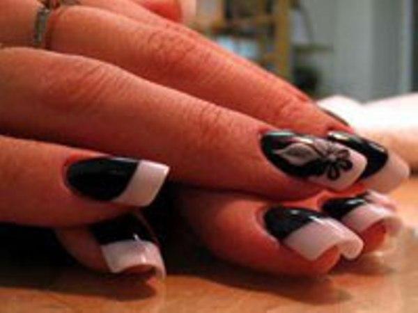 Дизайн ногтей фото осень фото французский маникюр