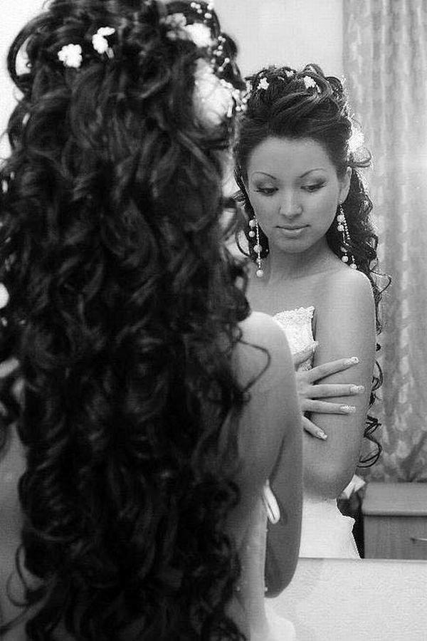 Galina Kramar - Портфолио - Портфолио - Наращивание волос Cвадебные прически.