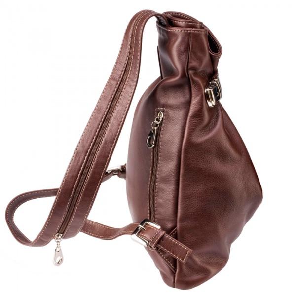 Женская сумка рюкзак Studio KSK 5105 (B-154СOG), коньяк.