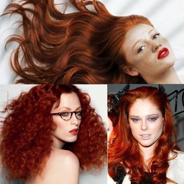 Фото на тему волосы сейчас красные
