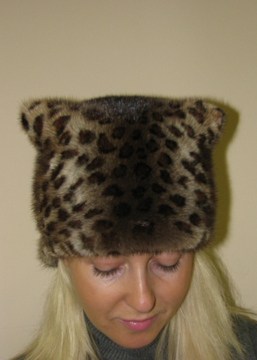 Сшить шапку из меха для девочки своими руками