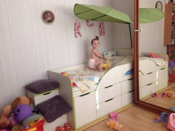 Какую кровать лучше  ребенку 3 лет
