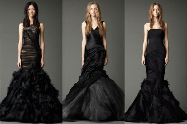 Надели бы вы черное свадебное платье