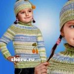 Уверены, что подборка новостей по теме вязание детской одежды спицами схемы - это именно то, что Вы пытались найти.