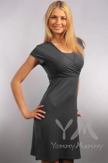и вот такое платье для кормления.