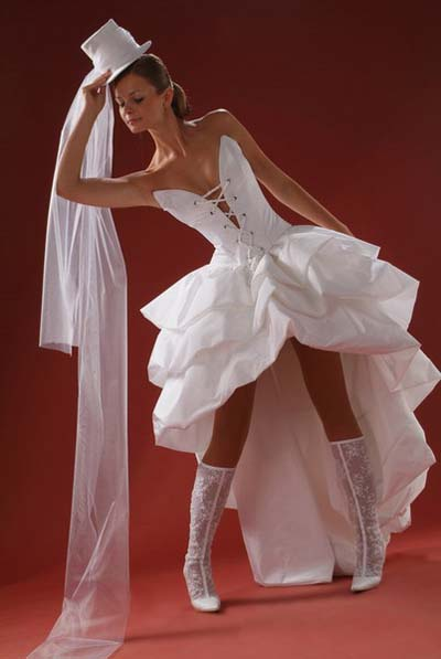 Короткие свадебные платья 100 фото