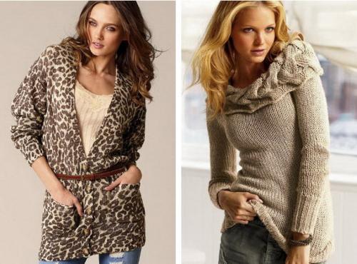 Что нам предлагают носить...  Стильные свитера - мода 2011 (фото)