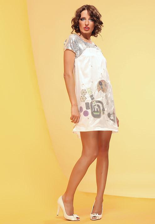 фасон летнего платья для полных