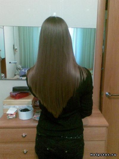 разновидности челок на длинные волосы фото