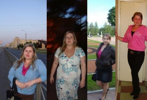 Реальные истории похудения галя